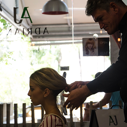 Formal Styling at Adrian J Salon Sunshine Beach Noosa